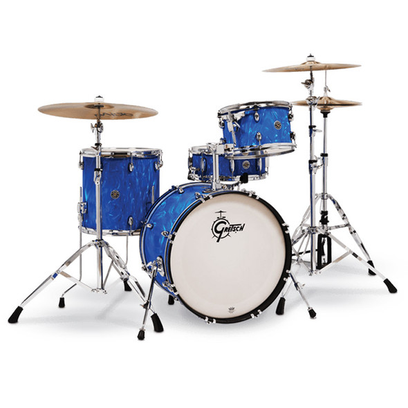 Gretsch Catalina Club 20 Inch Shell Pack in Blue Satin Flame
