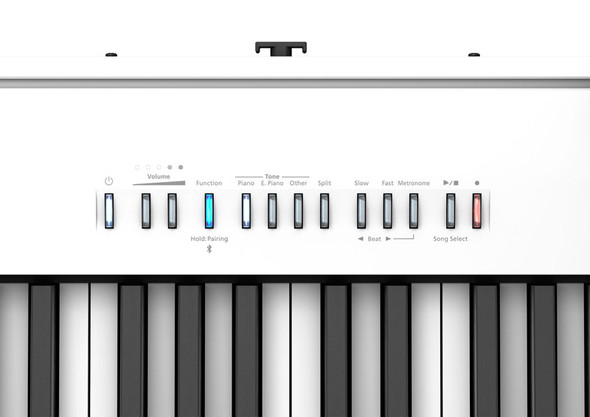 Roland FP-30X Digital Piano Bundle with Stand and Pedalboard, White