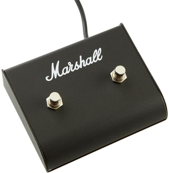 Marshall PEDL91004 Dual Pedal Foot Switch, Latching, Non-LED