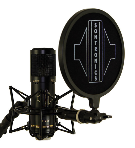 Sontronics STC-3X Pack Condenser Microphone and Accessories, Black  (as new)