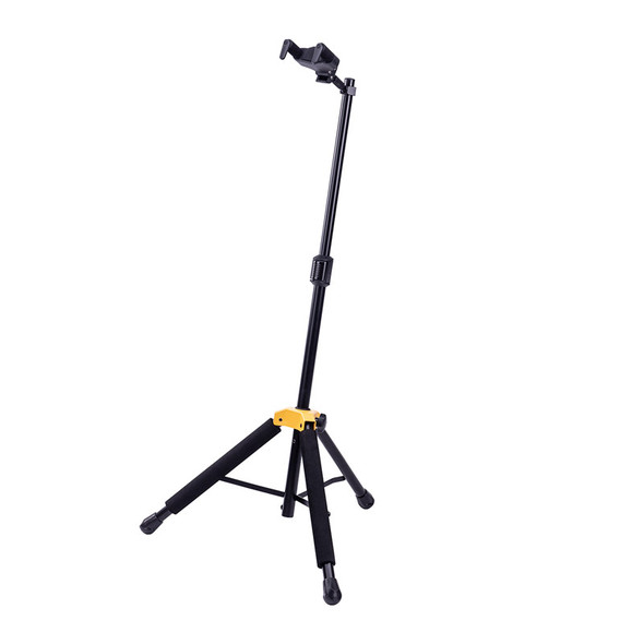Hercules GS415B PLUS Single Guitar Stand With Folding Auto-Grip Yoke  (ex-display)