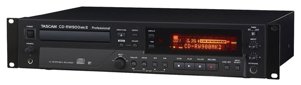 Tascam CD-RW900MK2 Rackmount CD Recorder  (ex-display)
