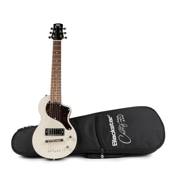 Blackstar Carry-on Travel Guitar, White