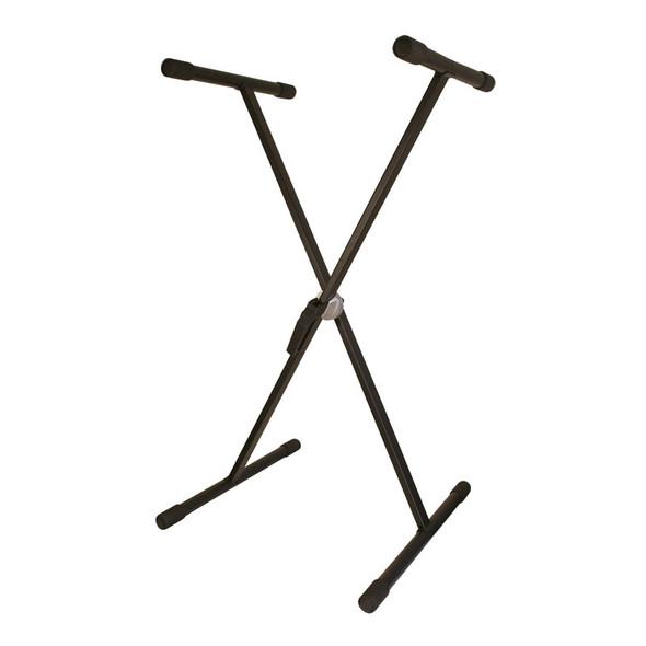 TGI Single Braced Keyboard Stand, Black  (ex-display)