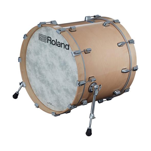 Roland KD-222-GN V-Drums Acoustic Design Kick Pad, Gloss Natural Finish