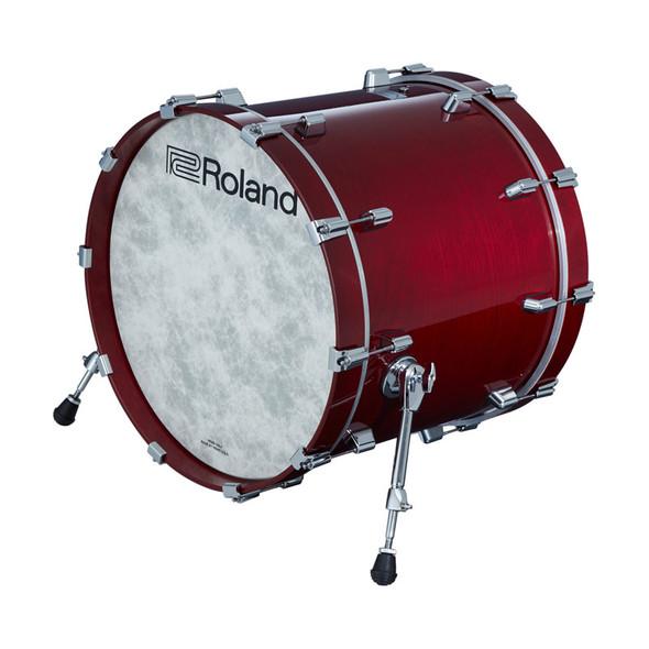 Roland KD-222-GC V-Drums Acoustic Design Kick Pad, Gloss Cherry Finish