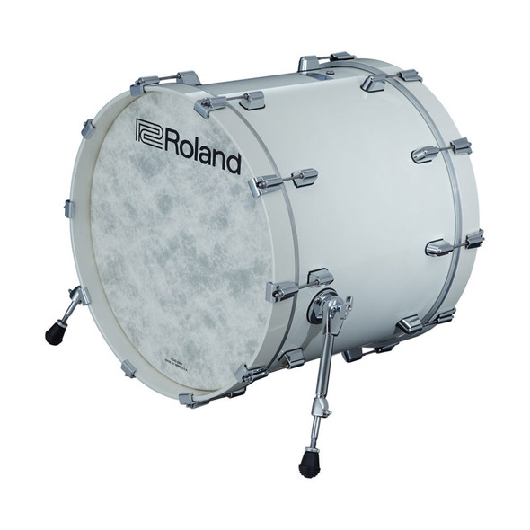 Roland KD-222-PW V-Drums Acoustic Design Kick Pad, Pearl White Finish