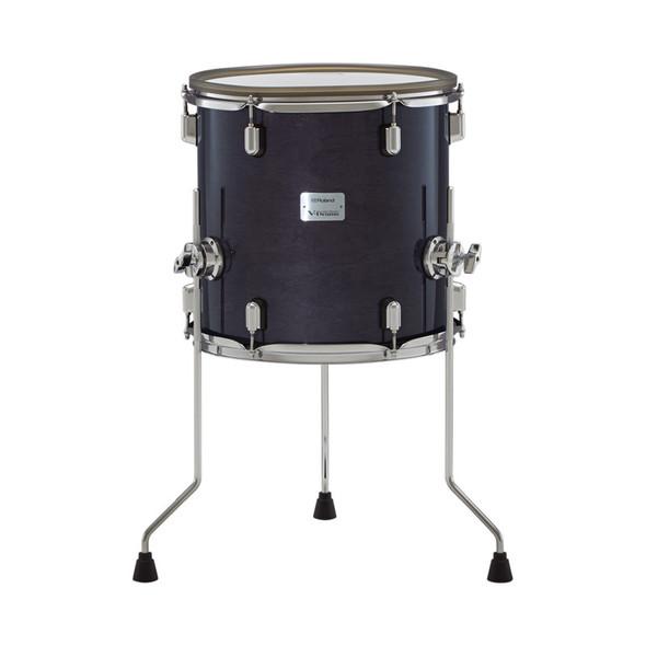 Roland PDA140F-GE V-Drums Acoustic Design Electronic Floor Tom, Gloss Ebony Finish