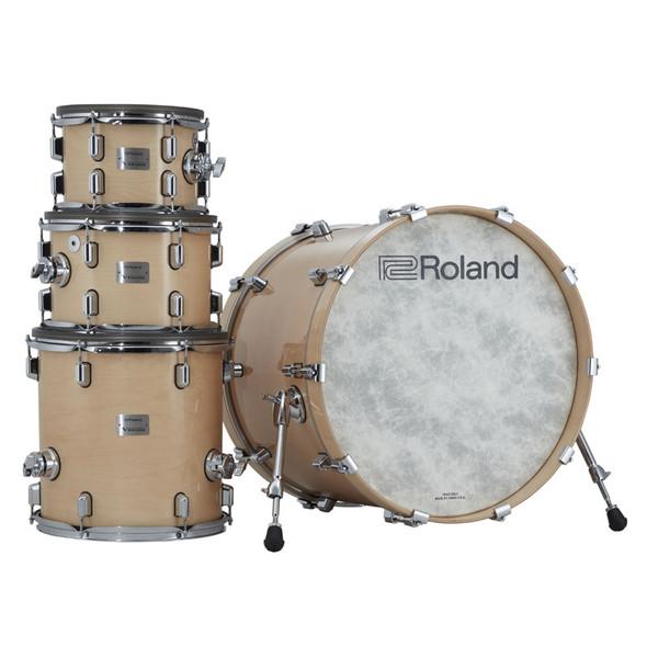 Roland VAD706-GN V-Drums Acoustic Design Drum Kit, Gloss Natural Premium Finish