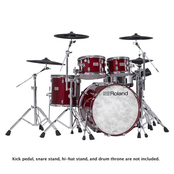 Roland VAD706-GC V-Drums Acoustic Design Drum Kit, Gloss Cherry Premium Finish