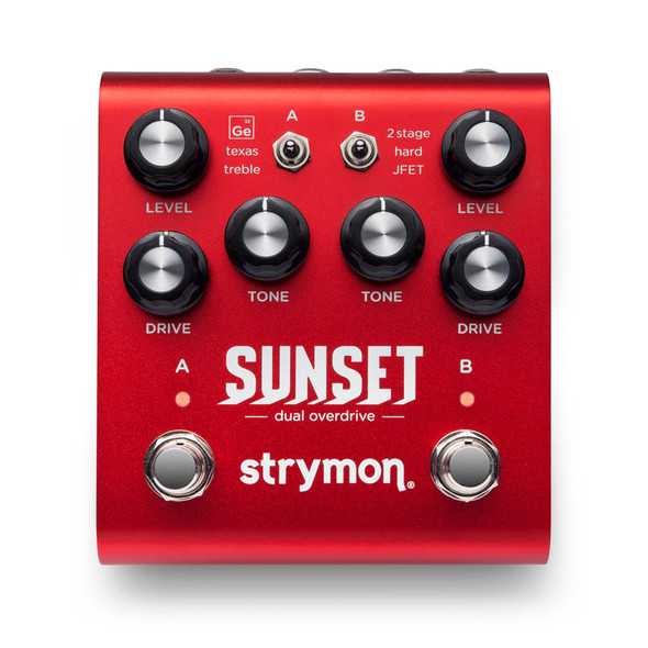 Strymon Sunset Dual Classic Overdrive Effects Pedal