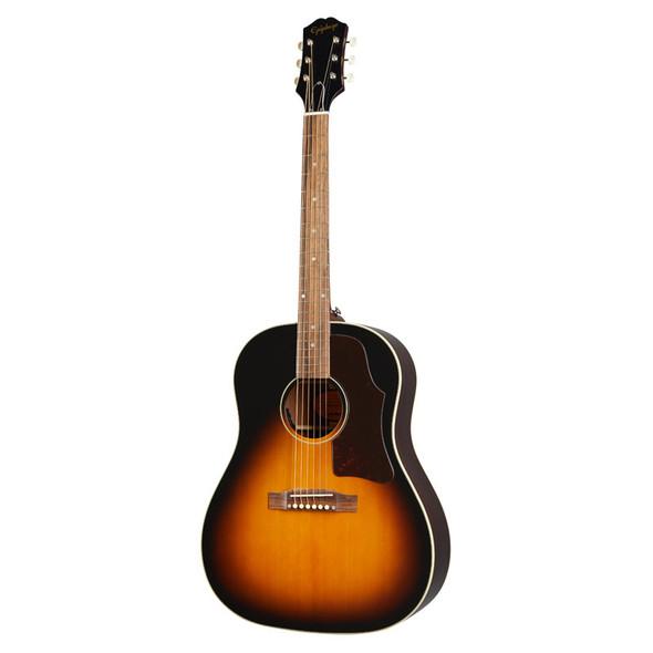 Epiphone Masterbilt J-45 Electro Acoustic Guitar, Aged Vintage Sunburst Gloss