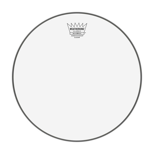 Remo CL-0312-BA 12 Inch Classic Fit Clear Ambassador Drum Head