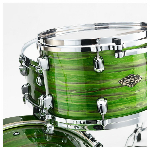 Tama Starclassic Walnut/Birch 5 Piece Shell Pack in Lacquer Shamrock Oyster