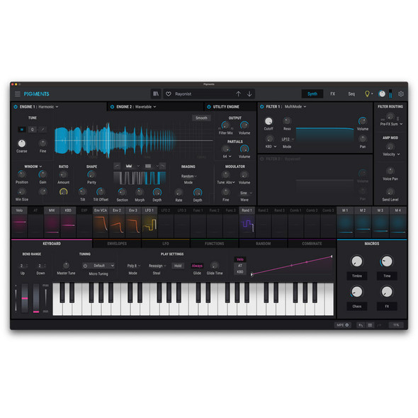 Arturia Pigments 3 Software Synthesizer (Download)