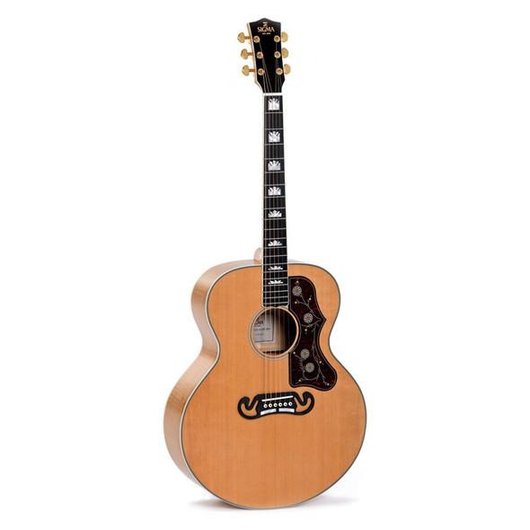 Sigma GJA-SG200-AN+ Electro-Acoustic Guitar, Natural