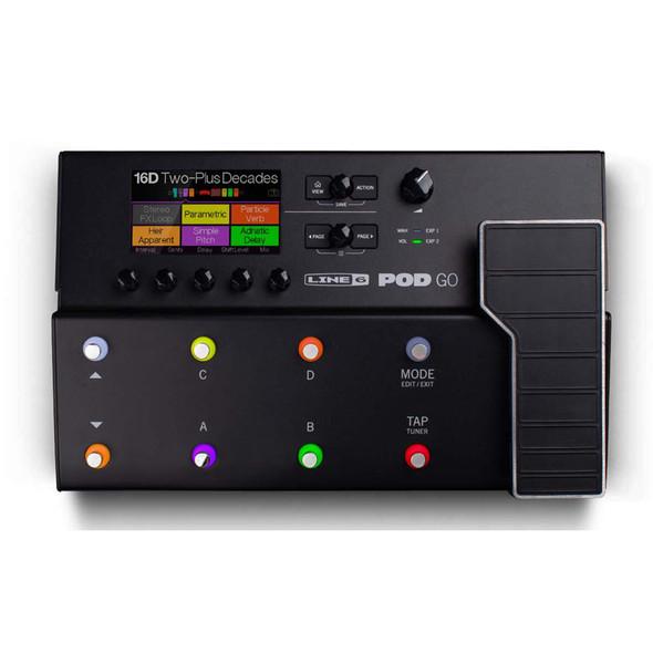 Line 6 Pod Go Multi FX Pedal  (ex-display)