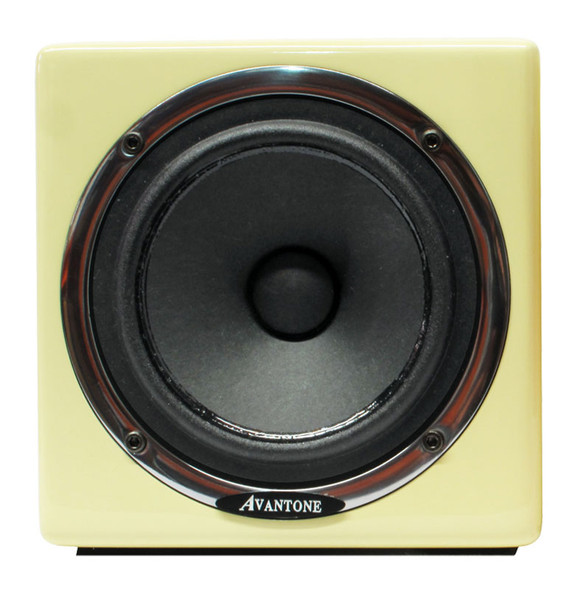 Avantone MIXCUBE/ACS Active Full-range Mini Reference Studio Monitor, Retro Cream Finish