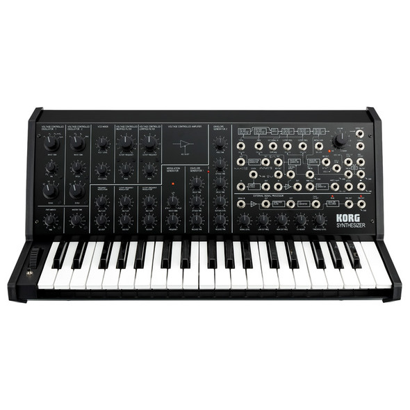 Korg MS-20 FS Analogue Synthesizer, Limited Edition Black