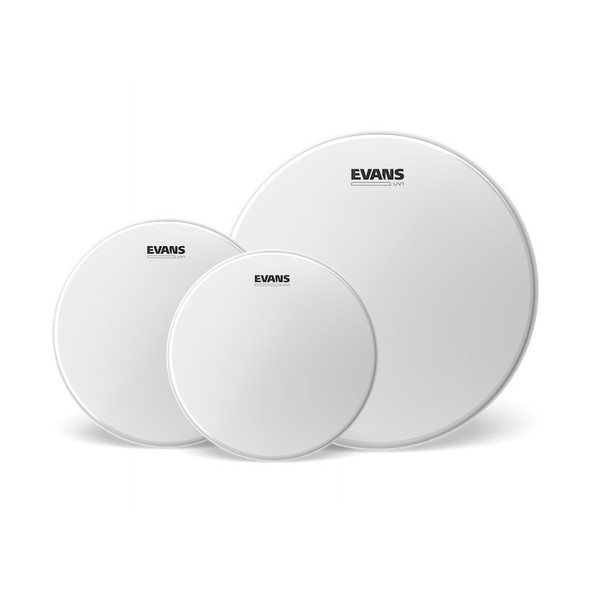 Evans ETP-UV1-F Coated Fusion Tom Pack (10, 12 and 14 inch)