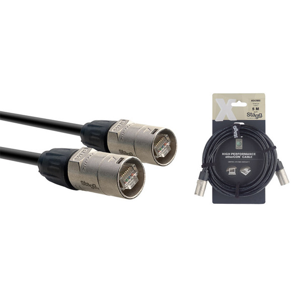 Stagg XCC5EC 5m Ethercon Cable