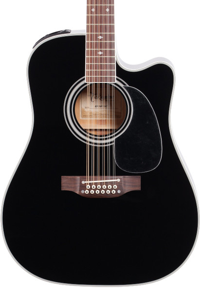 Takamine EF381SC 12-String Dreadnought Electro-Acoustic Guitar