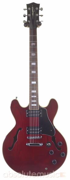 Columbus R2 Series 3 Semi-Hollow Body Electric Guitar, Dark Cherry Red (pre-owned)