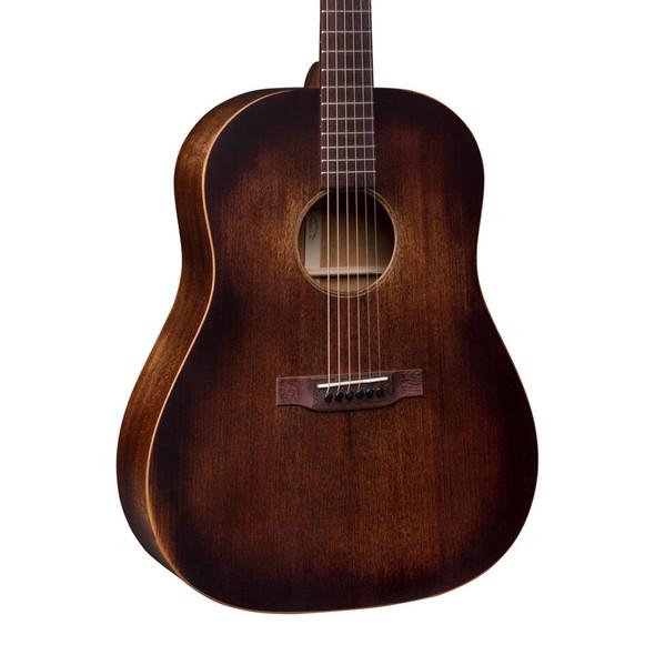 Martin DSS-15M StreetMaster Acoustic Guitar, Mahogany Burst