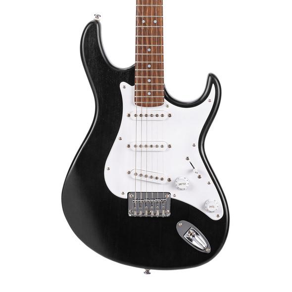 Cort G100 Electric Guitar, Open Pore Black