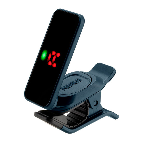 Korg Pitchclip 2 Enhanced Clip-On Tuner, Dark Green