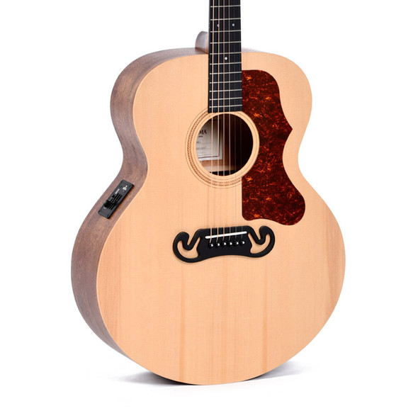Sigma GJME Grand Jumbo-14 Fret Electro-Acoustic Guitar
