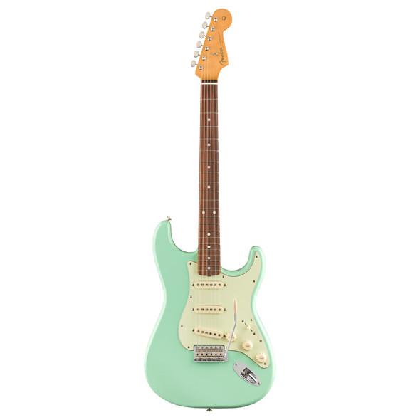 Fender Vintera 60s Stratocaster Electric Guitar, Surf Green, Pau Ferro