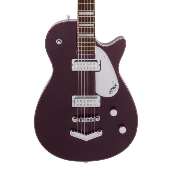 Gretsch G5260 Electromatic Jet Baritone Electric Guitar, Dark Cherry Metallic
