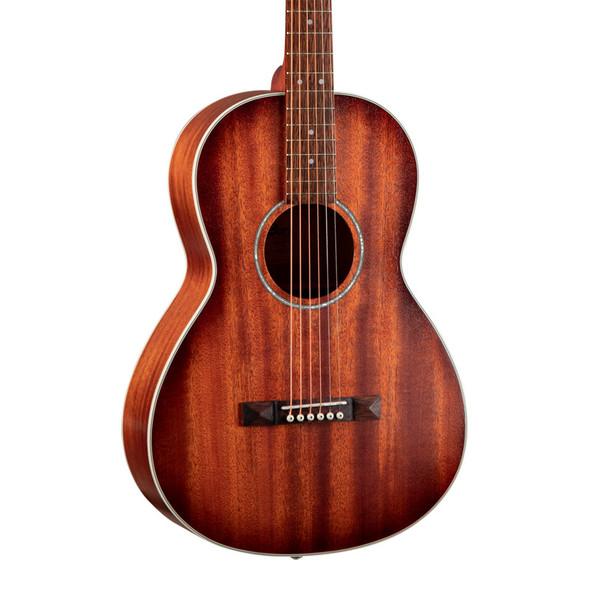 Cort AP550M Parlour Acoustic Guitar, Mahogany Open Pore