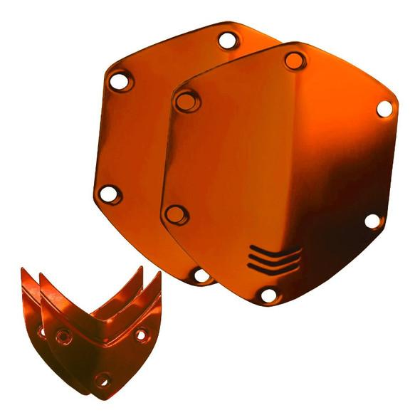 V-Moda Over-Ear Metal Shield Kit (Sun Orange)  (ex-display)
