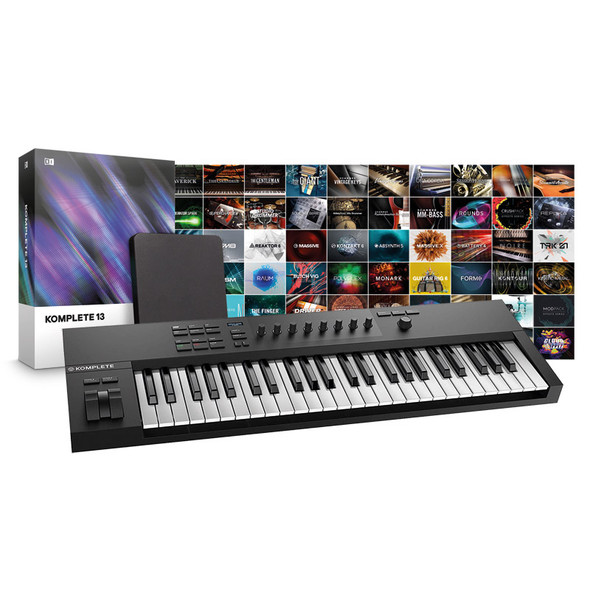 Native Instruments A49 Controller with Komplete 13 Bundle