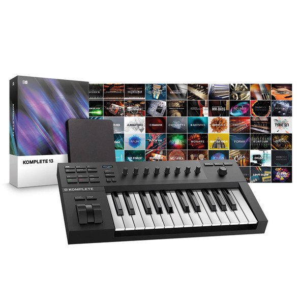 Native Instruments A25 Controller with Komplete 13 Bundle