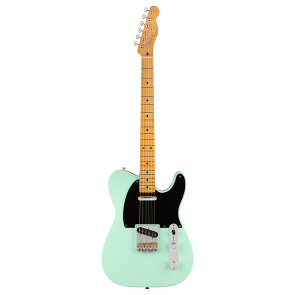 Fender Vintera 50s Telecaster Modified Electric Guitar, Surf Green, Maple