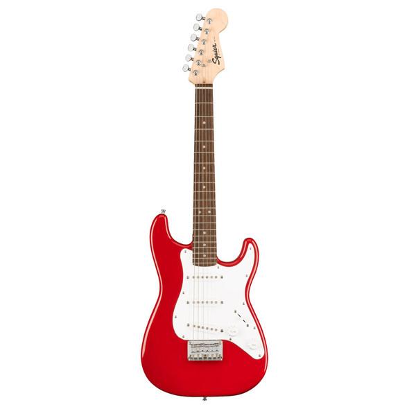 Fender Squier Mini Strat Electric Guitar, Dakota Red