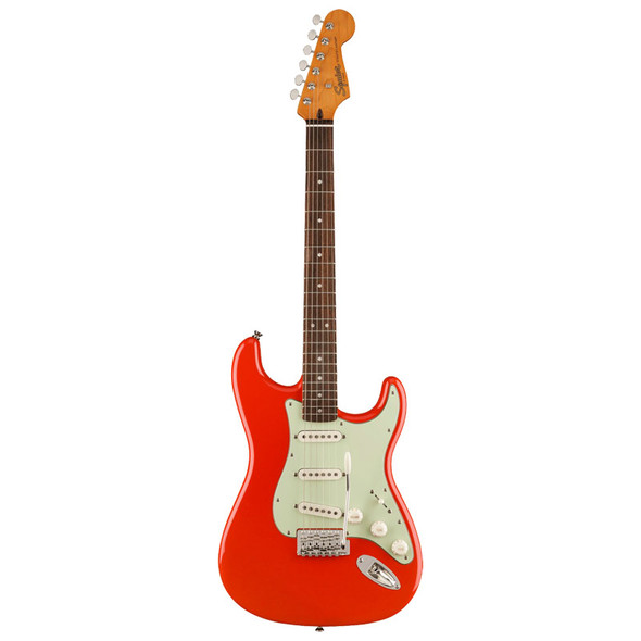 Fender Squier FSR Classic Vibe 60s Stratocaster Electric Guitar, Fiesta Red