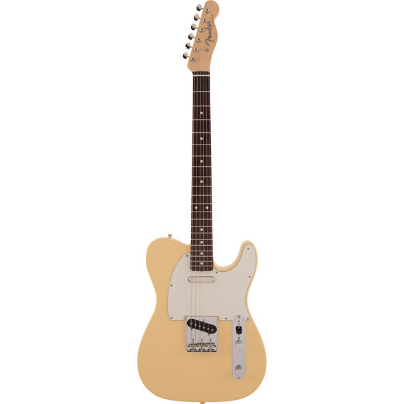 Fender Made In Japan Traditional 60s Telecaster Electric Guitar, Vintage White, Rosewood