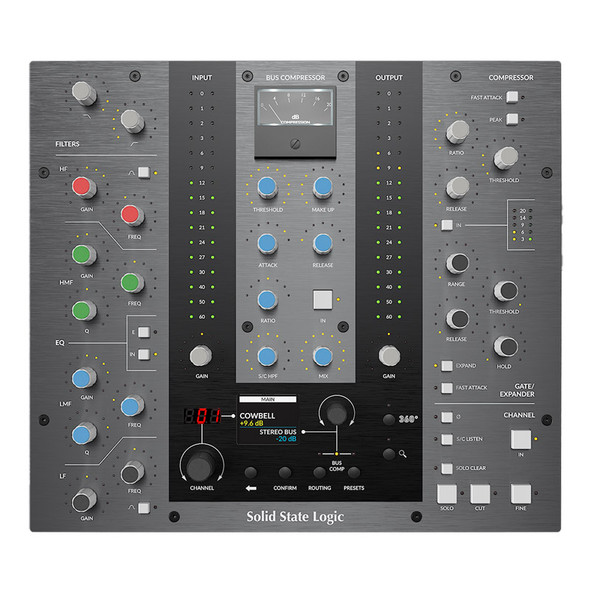Solid State Logic (SSL) UC1 Channel Strip and Bus Compressor Plug-In Controller