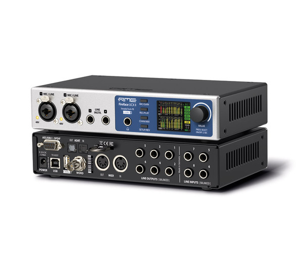 RME Fireface UCX II 40 Channel Advanced USB Audio Interface
