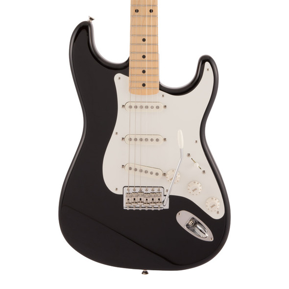 Fender Made In Japan Traditional 50s Stratocaster Electric Guitar, Black