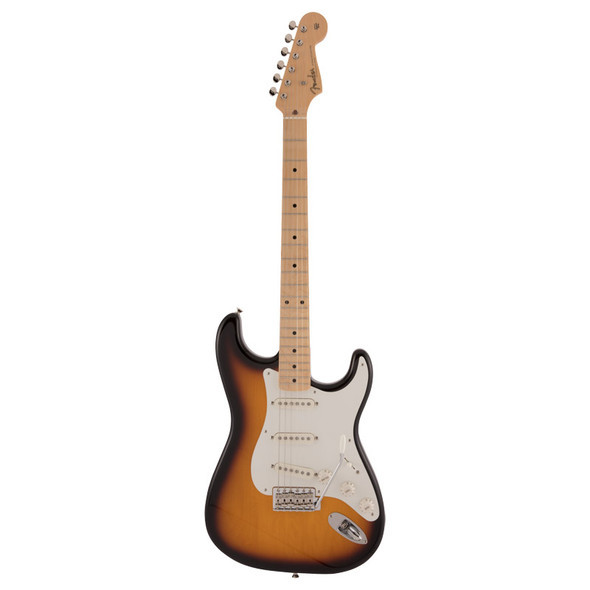 Fender Made In Japan Traditional 50s Stratocaster Electric Guitar, 2 Tone Sunburst