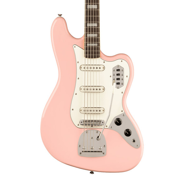 Fender Squier FSR Classic Vibe Bass VI, Shell Pink