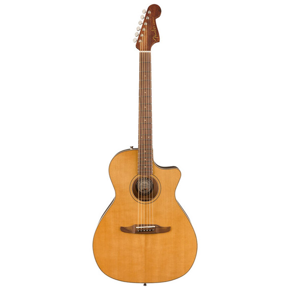 Fender LTD Edition Newporter Classic Electro-Acoustic, Aged Natural