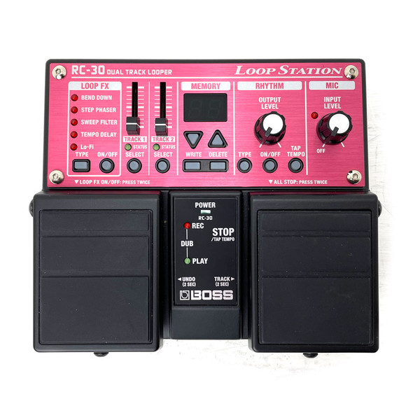 Boss RC-30 Loop Station Effects Pedal w PSU (pre-owned)