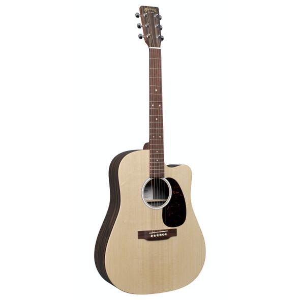Martin DC-X2E Macassar Electro-Acoustic Guitar with Gig Bag