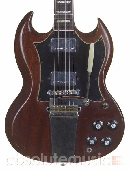 Gibson SG Vintage 60s Electric Guitar, Cherry with Case  (pre-owned)